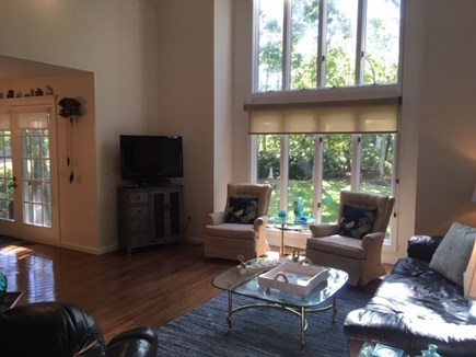 Brewster Cape Cod vacation rental - Large windows bask this room in natural light