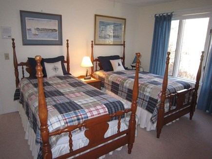 Brewster Cape Cod vacation rental - Twin bedroom is perfect for the kids