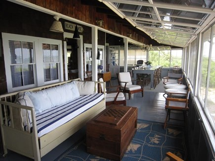 Brewster Cape Cod vacation rental - Large spacious porch with views for days!