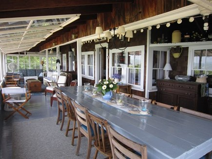 Brewster Cape Cod vacation rental - Great dining area with enough room for everyone
