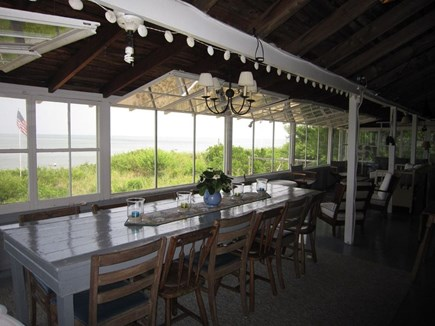 Brewster Cape Cod vacation rental - Enjoy amazing views from the water front dining area