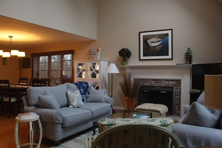 Orleans Cape Cod vacation rental - Living room and TV area
