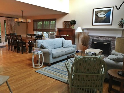 Orleans Cape Cod vacation rental - Great Room/Dining Room/Family Room