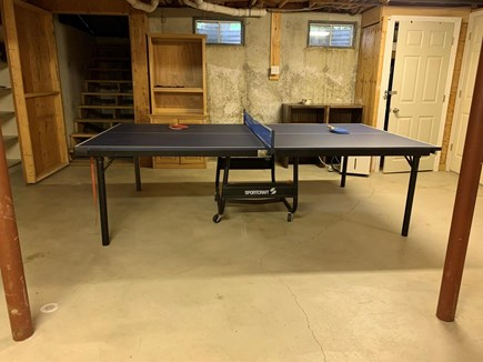 Orleans Cape Cod vacation rental - Ping pong in the basement