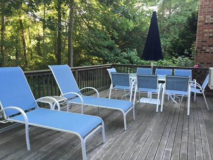 Orleans Cape Cod vacation rental - Large new deck