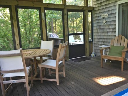 Orleans Cape Cod vacation rental - Great new screened porch