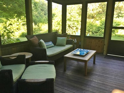 Orleans Cape Cod vacation rental - Comfy screened porch