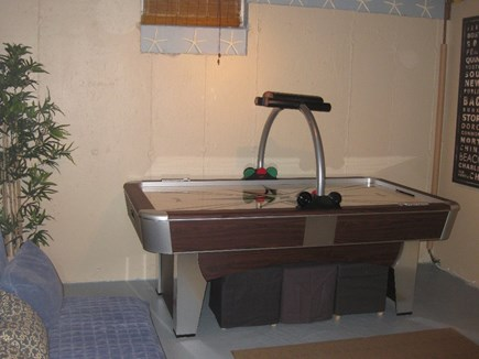 Harwich Cape Cod vacation rental - 7 Foot Air Hockey Table in Game Room