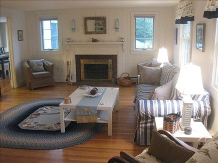Harwich Cape Cod vacation rental - Sunny, comfortable living Room