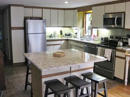 Harwich Cape Cod vacation rental - Center Island Kitchen