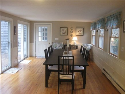 Harwich Cape Cod vacation rental - Dining Room with access to the deck and back yard