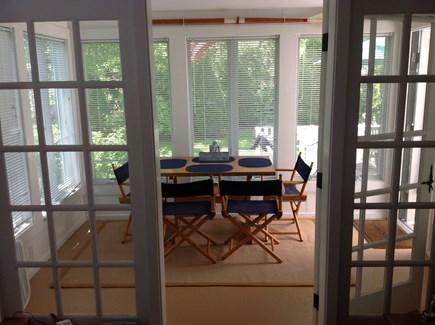 New Seabury, Mashpee New Seabury vacation rental - Dining porch