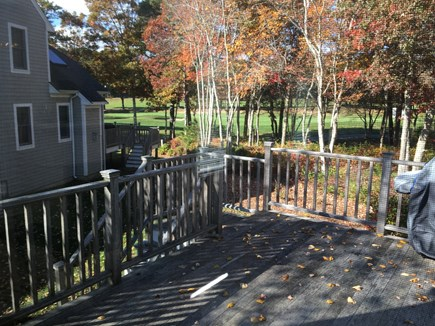 New Seabury, Mashpee New Seabury vacation rental - Rear deck - views of golf course