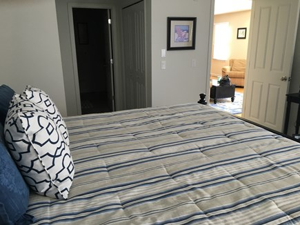 New Seabury, Mashpee New Seabury vacation rental - Main floor master bedroom with king