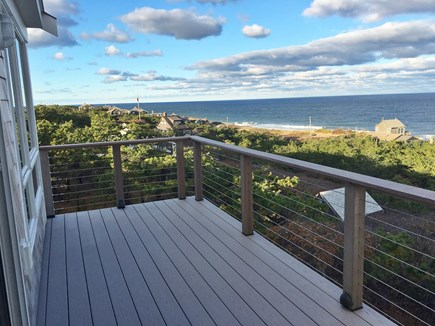 Wellfleet Cape Cod vacation rental - 2nd floor deck from office.