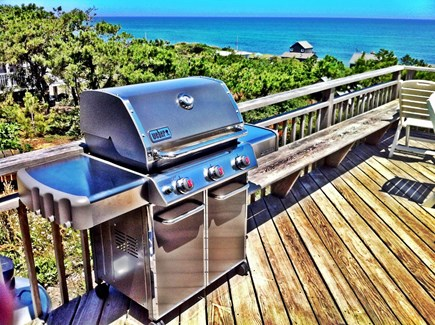 Wellfleet Cape Cod vacation rental - Weber Grill (on old deck)