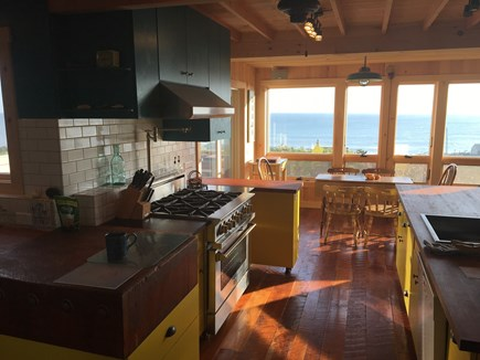 Wellfleet Cape Cod vacation rental - Kitchen with a view!
