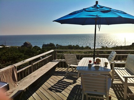 Wellfleet Cape Cod vacation rental - Deck furniture (on old deck).