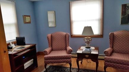 Mashpee, Popponesset Cape Cod vacation rental - Sitting area with desk