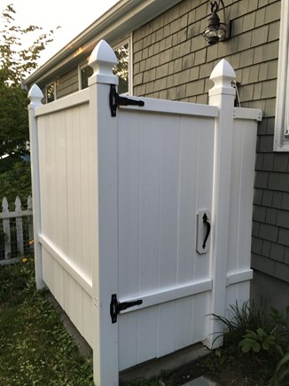 Falmouth Cape Cod vacation rental - Great outdoor shower