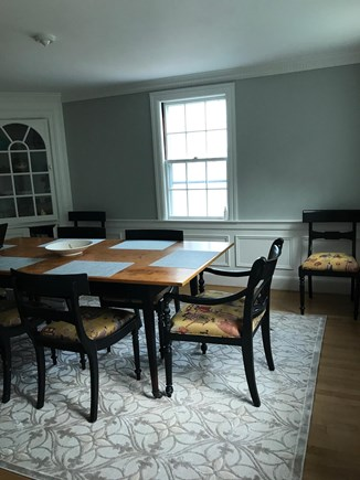 Falmouth Cape Cod vacation rental - Dining room- seating for 8