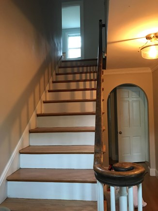 Falmouth Cape Cod vacation rental - Staircase foyer