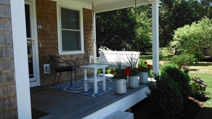 Dennis Cape Cod vacation rental - Front Porch Swing