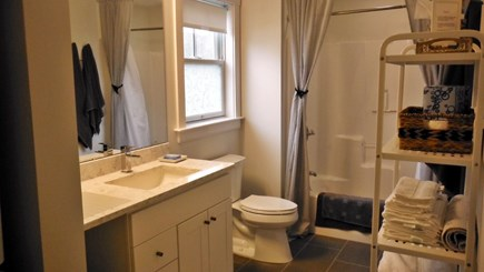 Dennis Cape Cod vacation rental - Typical First and Second Floor Baths. Each has Washer/Dryer
