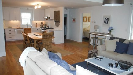 Dennis Cape Cod vacation rental - Second Floor LIving/Dining/Kitchen.