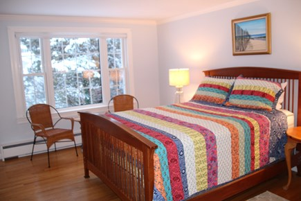 Orleans Cape Cod vacation rental - Master bedroom with Queen bed. AC.