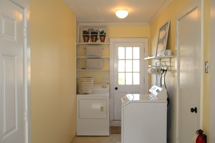 Orleans Cape Cod vacation rental - Cute and clean laundry room.