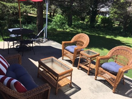 Orleans Cape Cod vacation rental - Relaxing back yard patio.