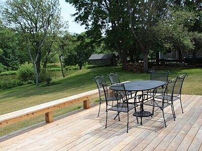 Orleans Cape Cod vacation rental - Great back deck for relaxing!