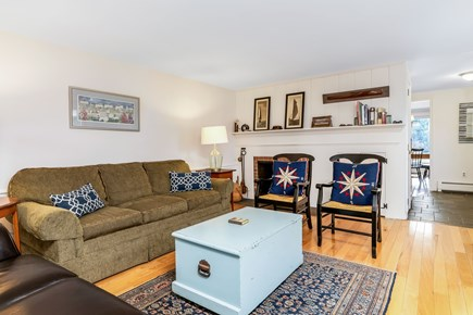 Orleans Cape Cod vacation rental - Big living room.