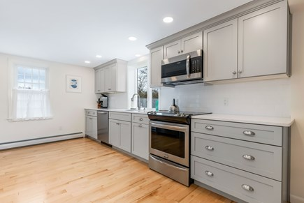 Orleans Cape Cod vacation rental - Newly renovated large kitchen.
