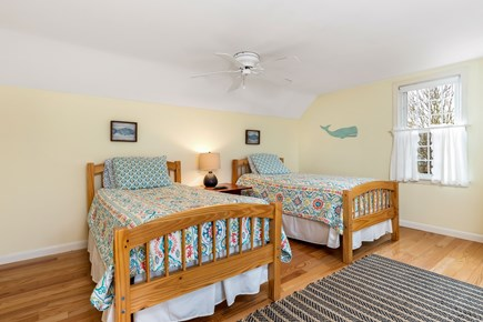 Orleans Cape Cod vacation rental - Upstairs bedroom with 2 twins and full bed.