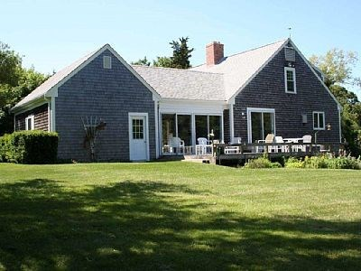Orleans Cape Cod vacation rental - Back of house and yard.