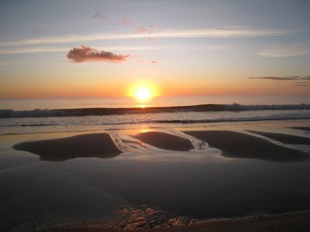 Orleans Cape Cod vacation rental - Beautiful sunrise at Nauset Beach