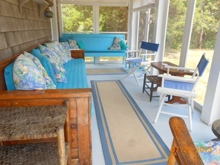 Orleans Cape Cod vacation rental - Charming screen porch.