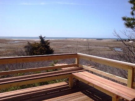 Wellfleet Cape Cod vacation rental - In the summer the marsh is all green