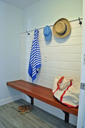 Osterville Osterville vacation rental - Mudroom off garage for storing beach gear