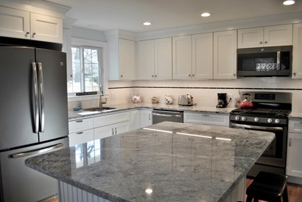 Osterville Osterville vacation rental - Brand new kitchen with island, open to dining room