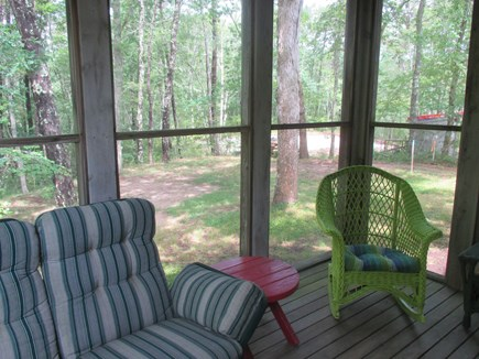 Truro Cape Cod vacation rental - Screened in porch