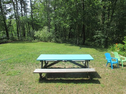 Truro Cape Cod vacation rental - Nice picnic table area