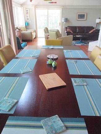 Truro Cape Cod vacation rental - Beautiful and big dining table