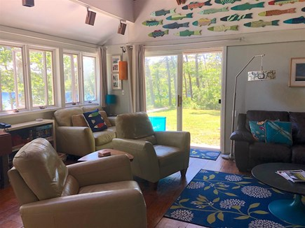 Truro Cape Cod vacation rental - Living Room Area