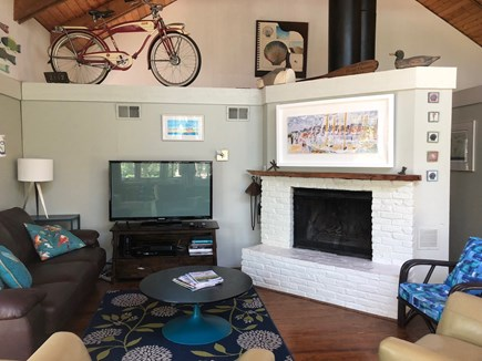 Truro Cape Cod vacation rental - TV time