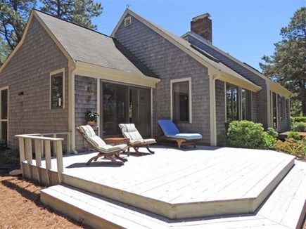 Eastham Cape Cod vacation rental - Relax on the deck and take in the views