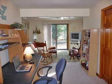 Eastham Cape Cod vacation rental - Comfortable den/office allows options for reading, TV or internet