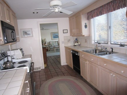 Orleans Cape Cod vacation rental - Great kitchen with views of the water.